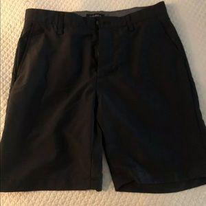 Nautica mens flat front golf Blue shorts 30 waist